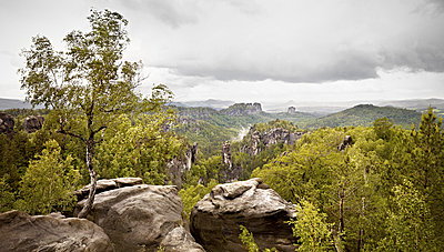 Elbe Sandstone Mountains - p9180084 by Dirk Fellenberg