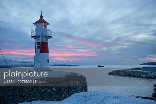 Lighthouse in Torshavn - p1354m2278832 by Kaiser