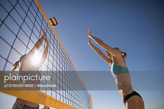 plainpicture - plainpicture p1315m2014095 - Female volleyball players p... - plainpicture/Wavebreak