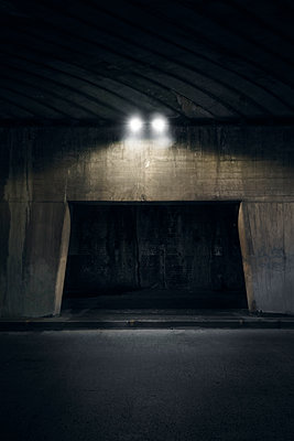 Underpass at night - p1280m2008561 by Dave Wall