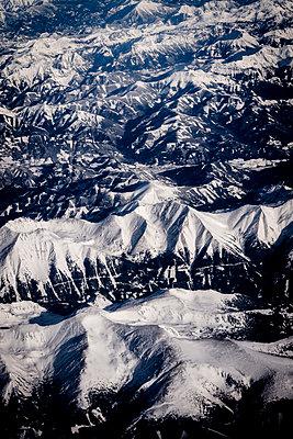 Aerial view of Alpine landscape - p1170m2064567 by Bjanka Kadic