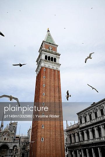 Campanile di San Marco in Venice - p1149m1332980 by Yvonne Röder