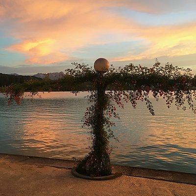 Sonnenuntergang am Wörthersee - p1401m2122568 von Jens Goldbeck