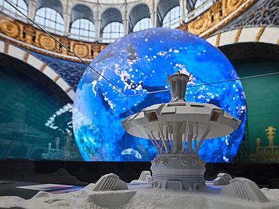 Russland, Weltraumausstellung in Moskau - p390m2287806 von Frank Herfort