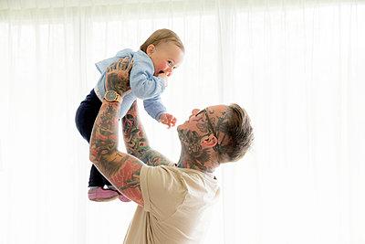Vater und Kind - p1212m1440319 von harry + lidy