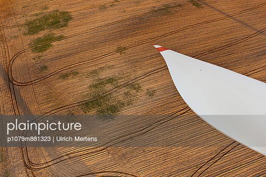 Rotorblatt eines Windrades - p1079m881323 von Ulrich Mertens