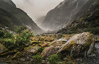 Franz Josef Glacier  - p1275m1132080 by cgimanufaktur