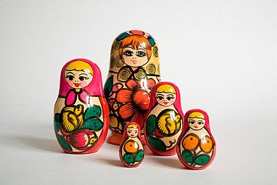 Puppen in Variationen - p3180152 von Christoph Eberle