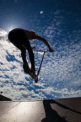 Skateboarder - p669m1520543 by David Harrigan