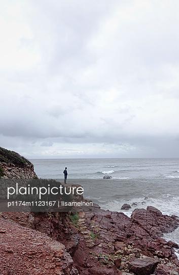 Allein am Meer - p1174m1123167 von lisameinen
