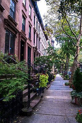 Apartment Houses in Brooklyn - p999m754880 by Monika Kluza