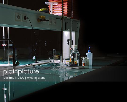 Laboratory - p453m2110400 by Mylène Blanc