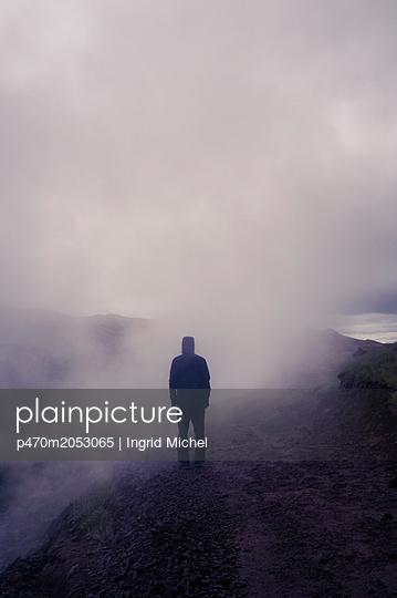 Geothermal area Hengill in Iceland - p470m2053065 by Ingrid Michel