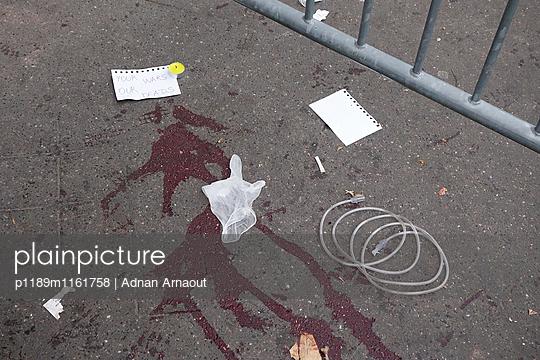 Attentat Ort - p1189m1161758 von Adnan Arnaout