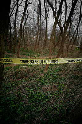 Crime Scene  - p1028m1004159 by Jean Marmeisse