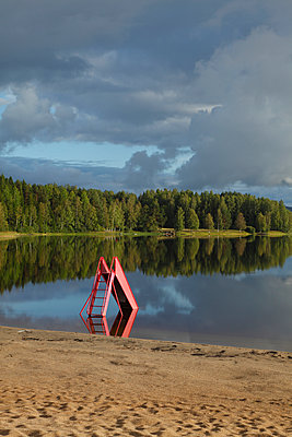 Bathing lake with water slide - p235m966476 by KuS