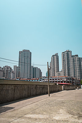 Apartment buildings in Shanghai - p795m1161282 by Janklein