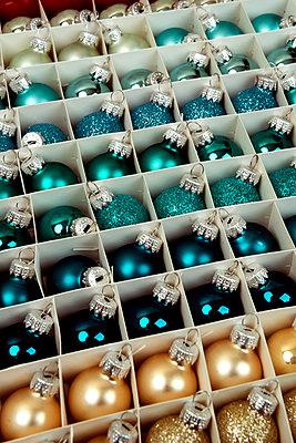 Many small christmas balls - p451m2133720 by Anja Weber-Decker