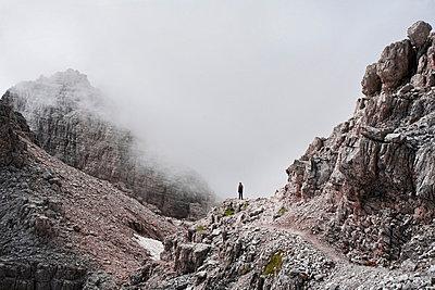 Bergsteigen - p7410011 von Christof Mattes