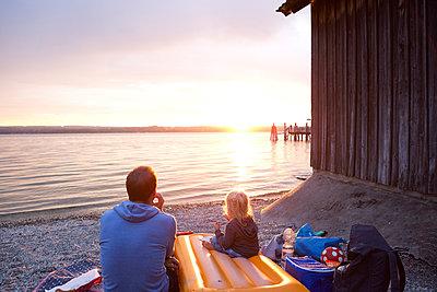 Familienurlaub - p454m1190349 von Lubitz + Dorner