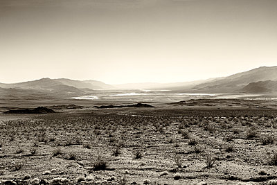 View To Badwater Basin - p1489m1573285 by Paul Simcock