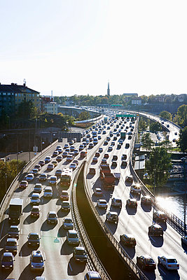 Traffic Stockholm Sweden - p31222303f by Plattform
