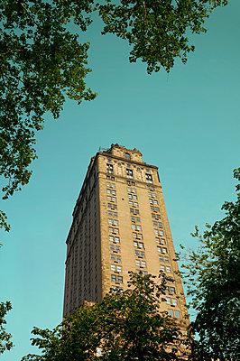 Historisches Wohnhaus in New York - p470m1481729 von Ingrid Michel