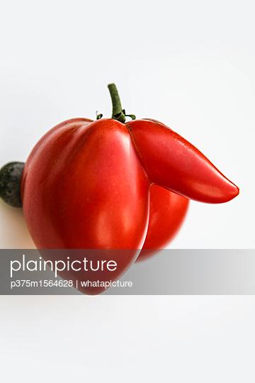 Tomate - p375m1564628 von whatapicture