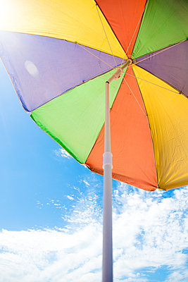 Underneath a colourful umbrella  - p1057m1591661 by Stephen Shepherd