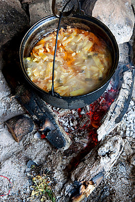 Bohnensuppe - p637m720988 von Florian Stern