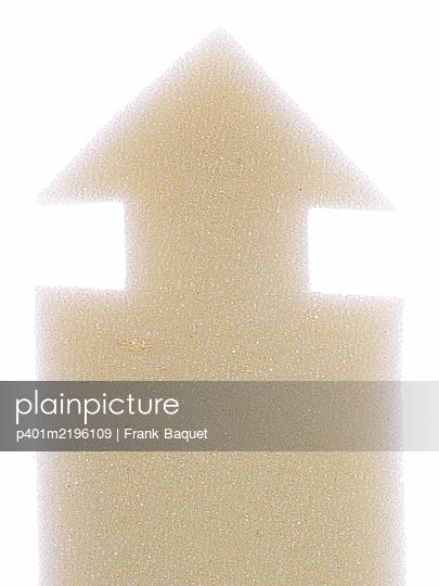 Pfeil aus Schaumstoff - p401m2196109 von Frank Baquet