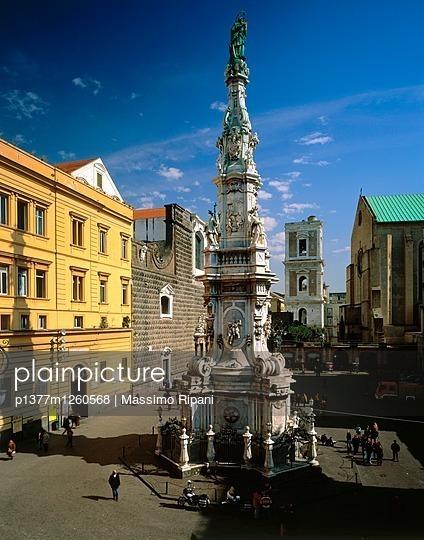 Piazza del Gesù Nuovo, Guglia dell'Immacolata - p1377m1260568 by Massimo Ripani