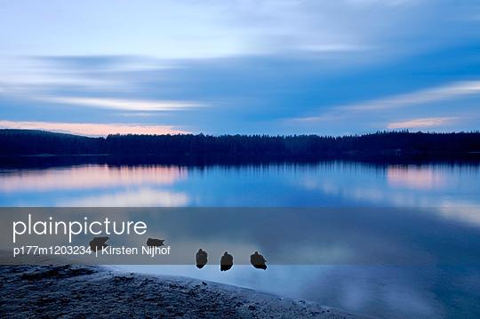 Pog Lake in Kanada - p177m1203234 von Kirsten Nijhof
