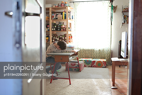 Homeschooling - p1519m2260261 by Soany Guigand