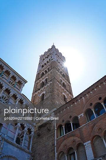 Glockenturm Kathedrale von Lucca  - p1620m2215592 von Cornelia Greil