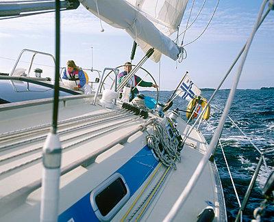 Sailboat - p3226752 by matti kolho