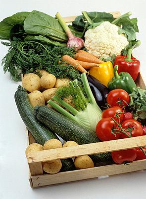 Frisches Gemüse - p4470100 von Anja Lubitz