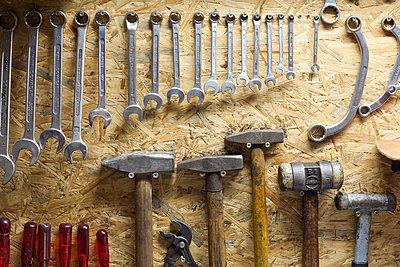 Orderly workshop - p1043m881376 by Ralf Grossek