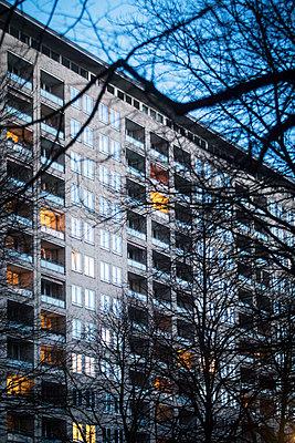 Grindelhochhaus - p1222m1538532 von Jérome Gerull