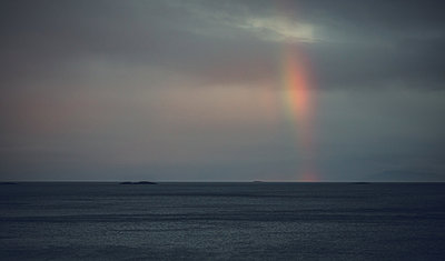 Rainbow over the ocean - p1084m986839 by Operation XZ