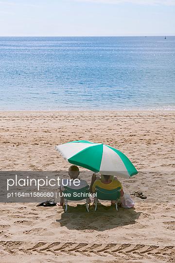 Strandleben - p1164m1586680 von Uwe Schinkel