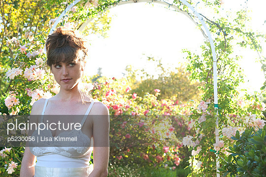 Romantic vintage dress - p5230056 by Lisa Kimmell