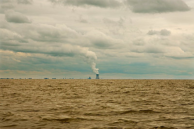 Nuclear power plant - p3950186 by John Weber