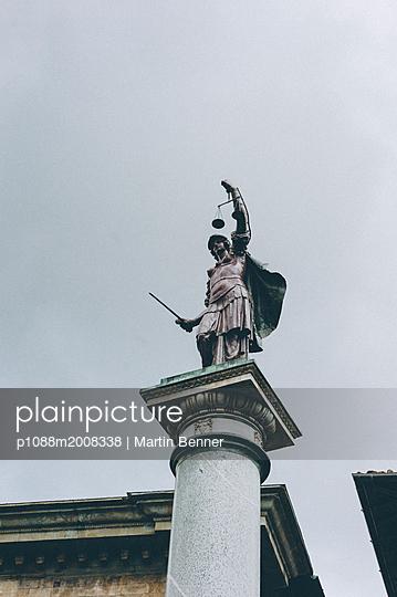 Denkmal in Florenz - p1088m2008338 von Martin Benner