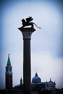 Markuslöwe in Venedig - p1149m1332982 von Yvonne Röder