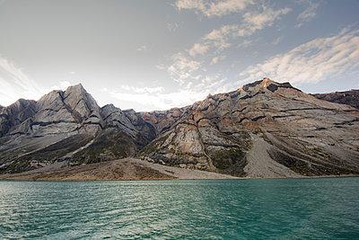 Fjord in Grönland, Søndre Strømfjord - p1486m1589834 von LUXart