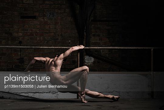 Naked male dancer - p1139m1503058 by Julien Benhamou