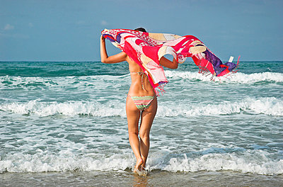 Am Meer in Griechenland - p5770013 von Mihaela Ninic