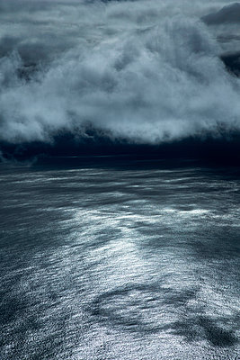Clouds above the Atlantic ocean - p1032m903691 by Fuercho