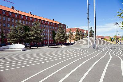 Superkilen-Platz in Kopenhagen - p432m2020238 von mia takahara